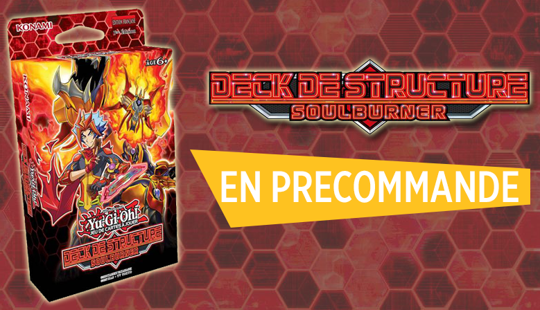 La 1ère vague de Structure Deck débarque !